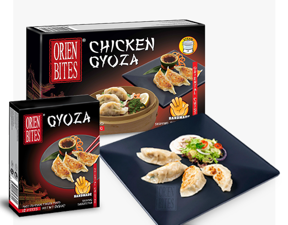 Foodservice Catering and Restaurant Gyoza packaging - FF-OBCN-066