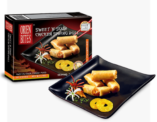 Foodservice Sweet 'N' Sour Spring Rolls Packaging FF-OBCN-037