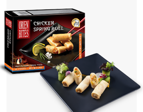 Packaging Chicken Springroll FF-OBCN-039