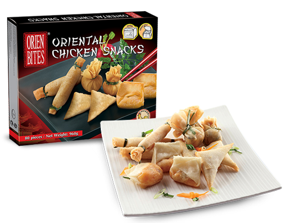 Oriental Chicken Snacks