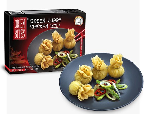 Packaging Green Curry Chicken Deli FF-OBCN-060 OrienBites