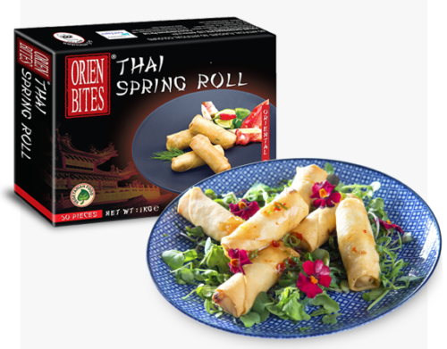 Thai Spring Roll packaging FF-OCBN-078 OrienBites
