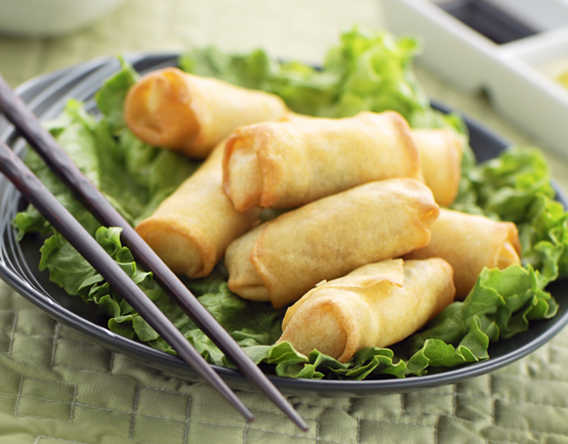 The Cheapest Spring Roll