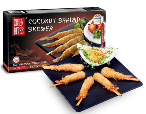 Coconut Shrimp Skewer