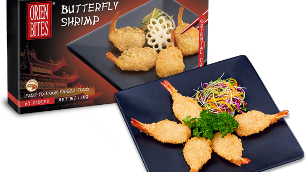 Ebi Fry Breaded Butterfly Shrimp Frozen Product