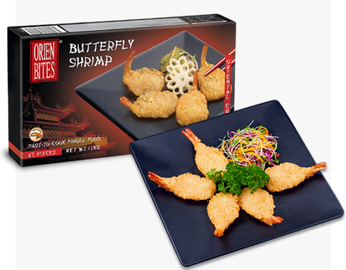 Butterfly Shrimp FF-OBCN-082 Packaging