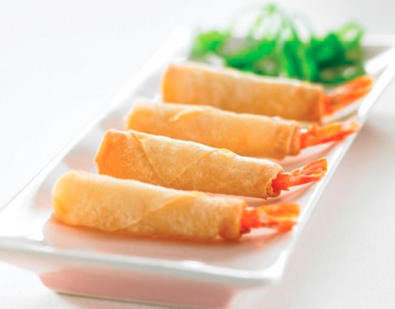 Catering Filo Shrimp Roll