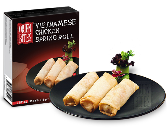 Vietnamese Chicken Spring Roll
